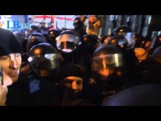 : Беркут напав на опозиціонерів на чолі з Яценюком через машину прослуховування