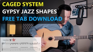 Using the CAGED system to play GYPSY JAZZ