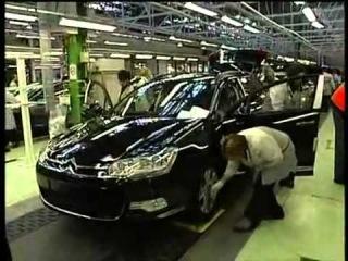 Usine PSA Rennes - Fabrication de la citroen C5 (vidéo 3/3)