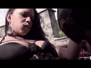 Drielly Riuston, Camilla Jolie - Tower Double Abuse _1080p