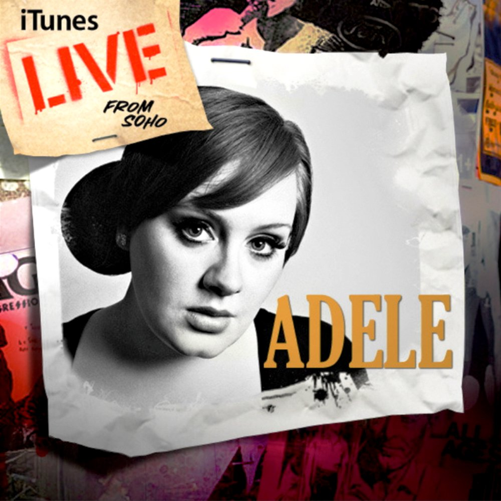Adele album iTunes Live from SoHo