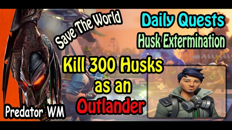 Kill 300 Husks in successful missions as an Outlander