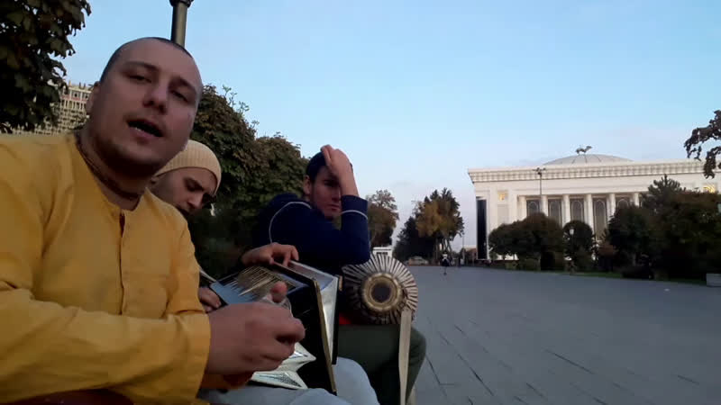 21.10.2019 — HARE KRISHNA MANTRABOX 1.2 — Абхирам Сагитдин в Ташкенте (часть 2)