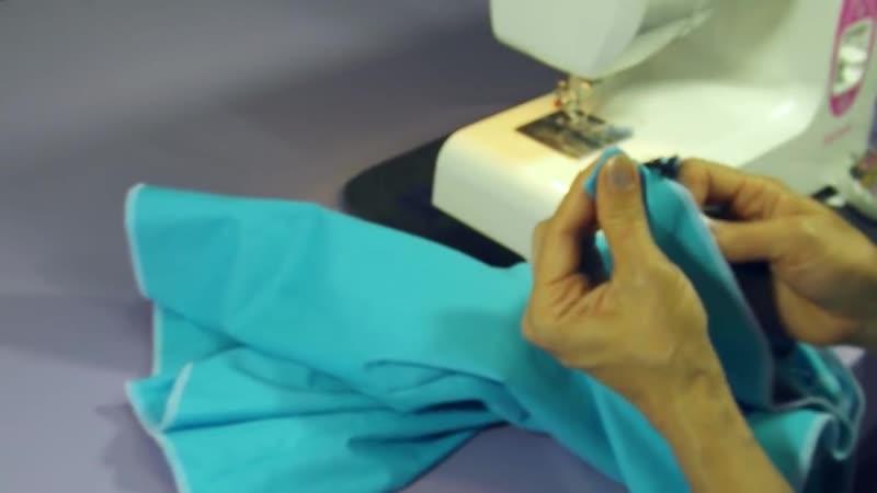 Как пришить пояс к юбке Подробная инструкция