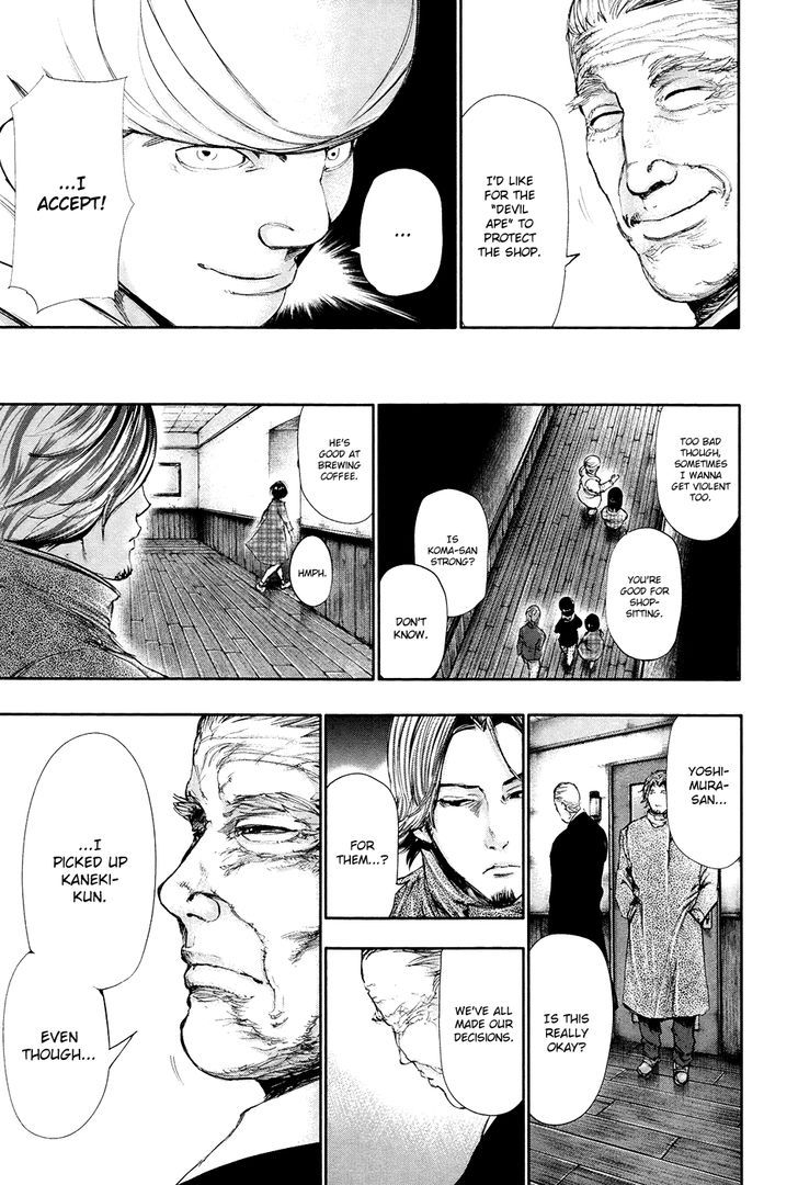 Tokyo Ghoul, Vol.7 Chapter 59 Closed, image #17