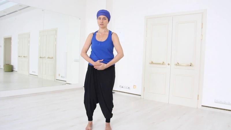 Укрепляем женское здоровье Урок по африканской йоге с Верой Коротаевой