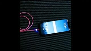 Светящийся светодиодный магнитный зарядный кабель USB на Aliexpress