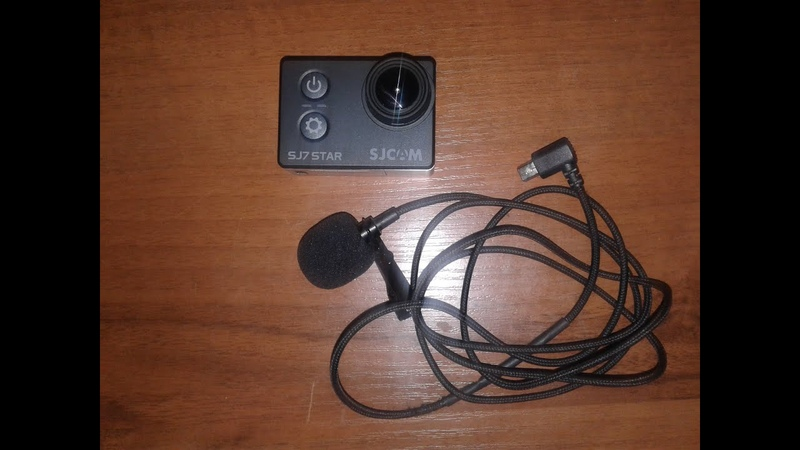SJcam7star Обзор и доработка камеры для рыбалки и отдыха Аквабокс внешний микрофон power bank