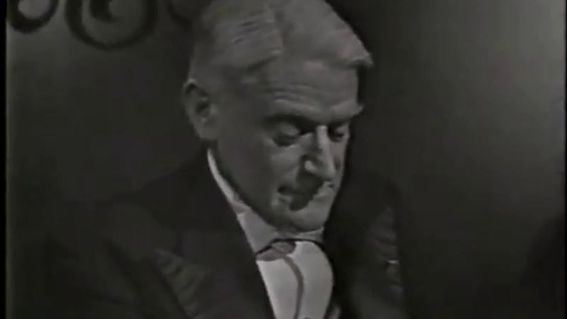 Ravel's Jeux d'eau Vlado Perlemuter video 1966 incomplete