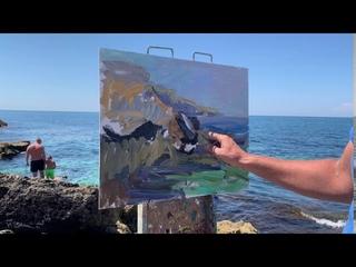 Eugene Kulish,  Painting.  Black Sea, Crimea