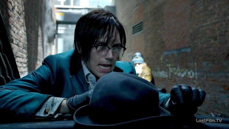Загадочник просыпается в мусорном контейнере Барбара и Пингвин в ярости Готэм