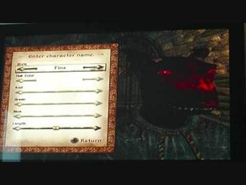 Oblivion character creation argonian