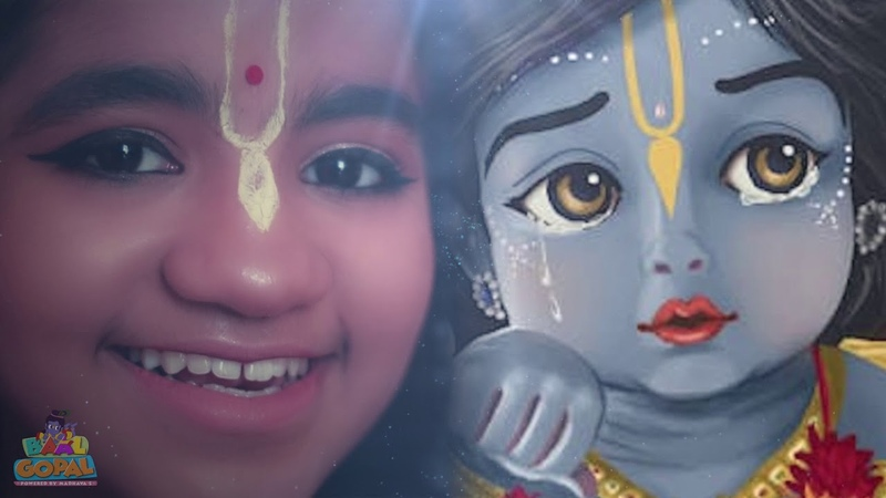 हरे कृष्ण महामंत्र HARE KRISHNA MAHA MANTRA MEDITATION KIRTAN Baal Gopal Powered By Madhavas
