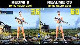 REDMI 9 vs REALME C3🔥 - БОЛЬШОЕ СРАВНЕНИЕ В ИГРАХ! 🔥 КТО ЛУЧШЕ? FPS+НАГРЕВ! GAMING TEST