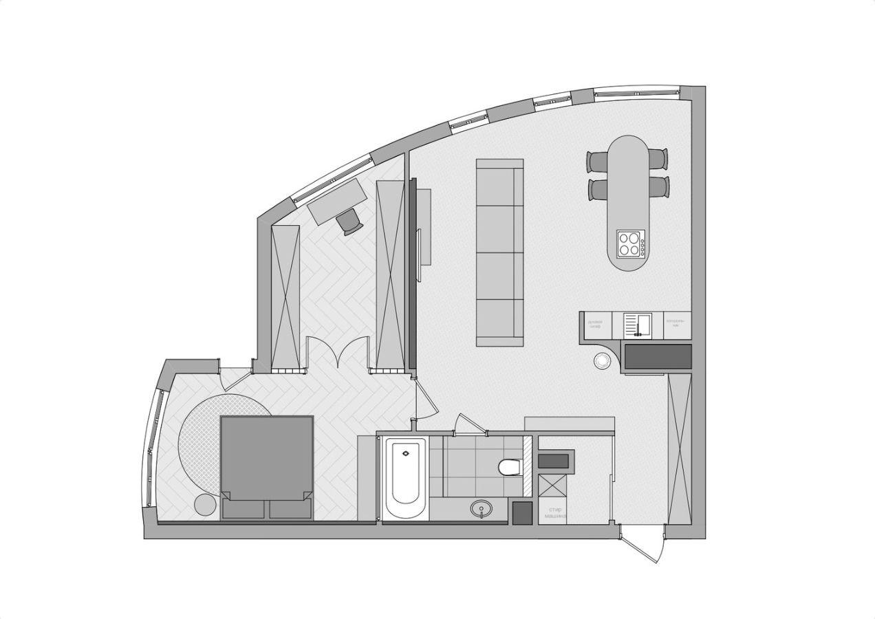 Удобная и уютная квартира студентки в Киеве (74кв.