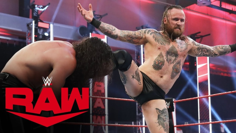 The «Kingslayer» Aleister Black vs. Seth Rollins Raw, July 20, 2020