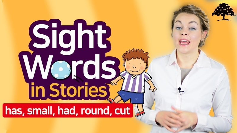 Easy Sight Words 2 (Unit 5 Sam's Ball)   Sight Words has, small, had, round, cut