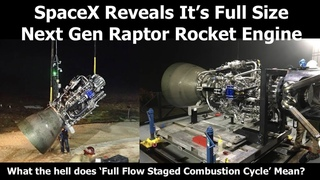 SpaceX's Full Size Raptor Rocket Engine Revealed By Elon Musk