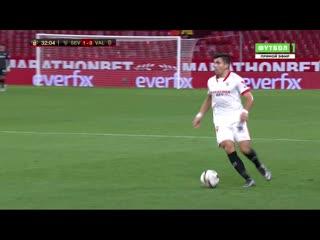 «Севилья» - «Валенсия». 2:0. Де Йонг