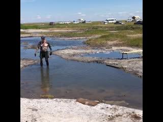 """Видео отчет с выездной экскурсии на """"Тузлуккольские грязи """" 05.07.20202"""