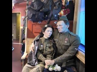 Ленинградская область Поезд Победы Выборг
