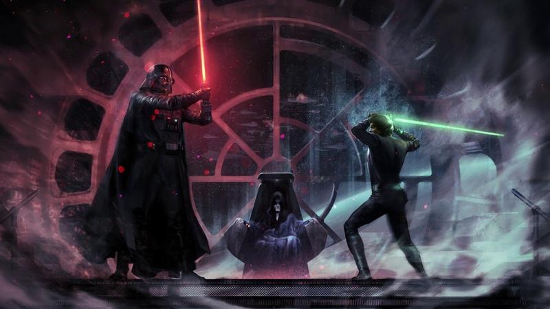 Star Wars Luke vs Vader Theme A Jedi's Fury EPIC VERSION