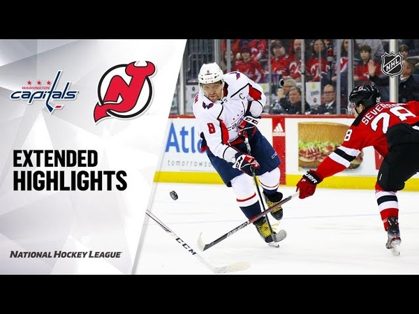 Washington Capitals vs New Jersey Devils Feb 22 2020 Game Highlights NHL 2019 20 Обзор