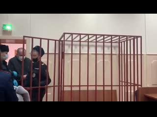 В Басманном суде Москвы прошло заседание по делу аудитора Счетной палаты Михаила Меня. Его обвиняют в растрате 700 млн