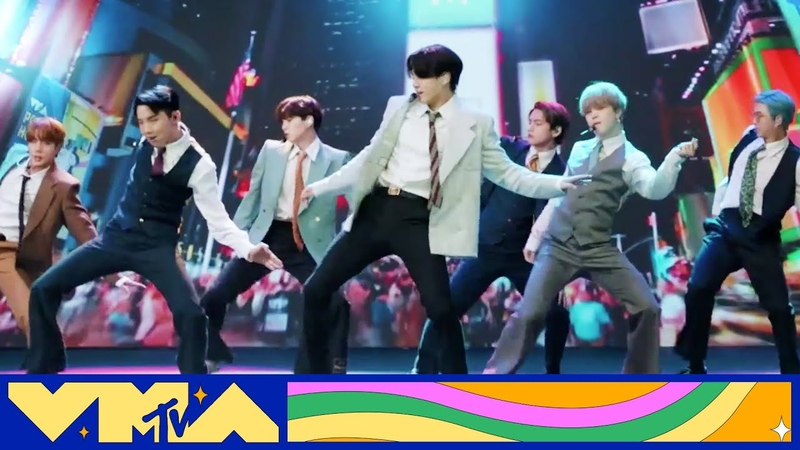 BTS Performs Dynamite 2020 MTV VMAs