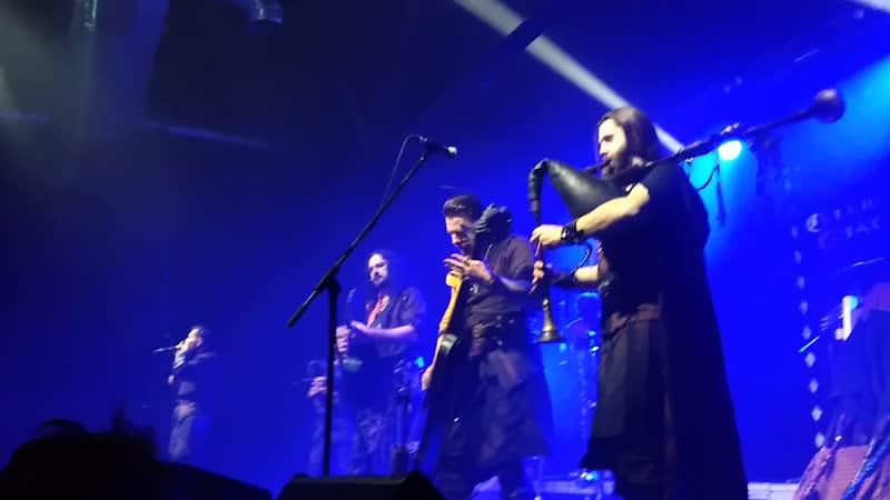 Corvus Corax Sauf noch ein live Moscow 2019 часть песни