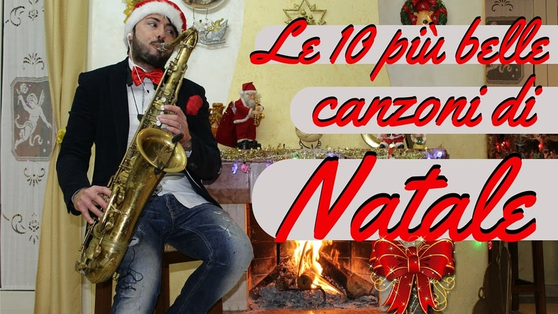 TOP 10 CANZONI DI NATALE Cover Sax Daniele Vitale Top 10 songs of Christmas