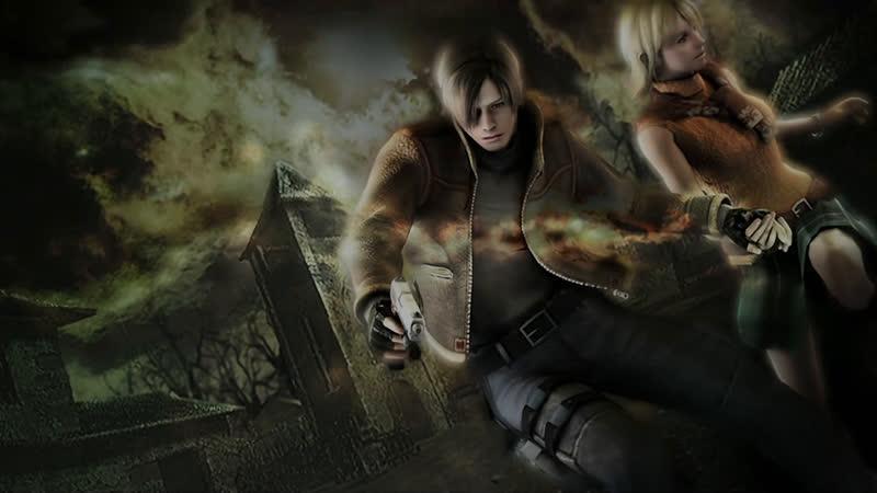 Новогодний эфир Evil Pooh HadrEdge Resident evil 4 PS4