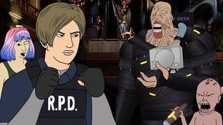 Dead By Daylight Parody 14 - Resident Evil (Animated)
