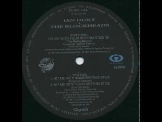 Ian Dury & The Blockheads - Hit Me With Your Rhythm Stick (Flying Remix)