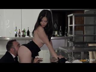 Nekane - Businesses and pleasure with Nekane. Porn|Порно|Секс на кухне|Большие сиськи|Брюнетки|Молодые