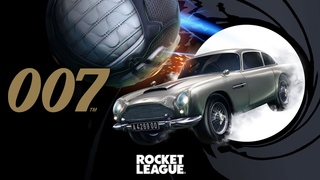 007's Aston Martin DB5 Arrives in Rocket League