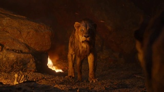 гиены убивают Шрама ( король лев 2019)