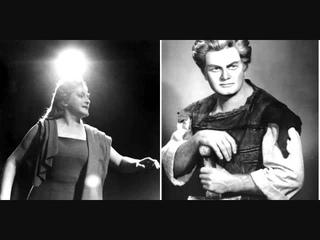 """Birgit Nilsson & John Vickers  """"Siegmund! Sieh`auf mich!""""  Die Walküre"""