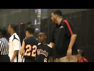 "LeBron James' son ""LeBron James Jr."" at Disney AAU Championships"