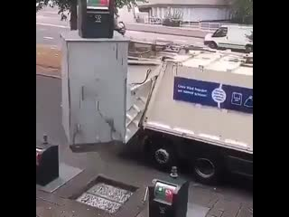 Механизированный сбор и выгрузка отходов