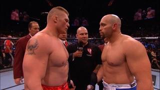 Брок Леснар vs Шэйн Карвин: Вспоминаем бой