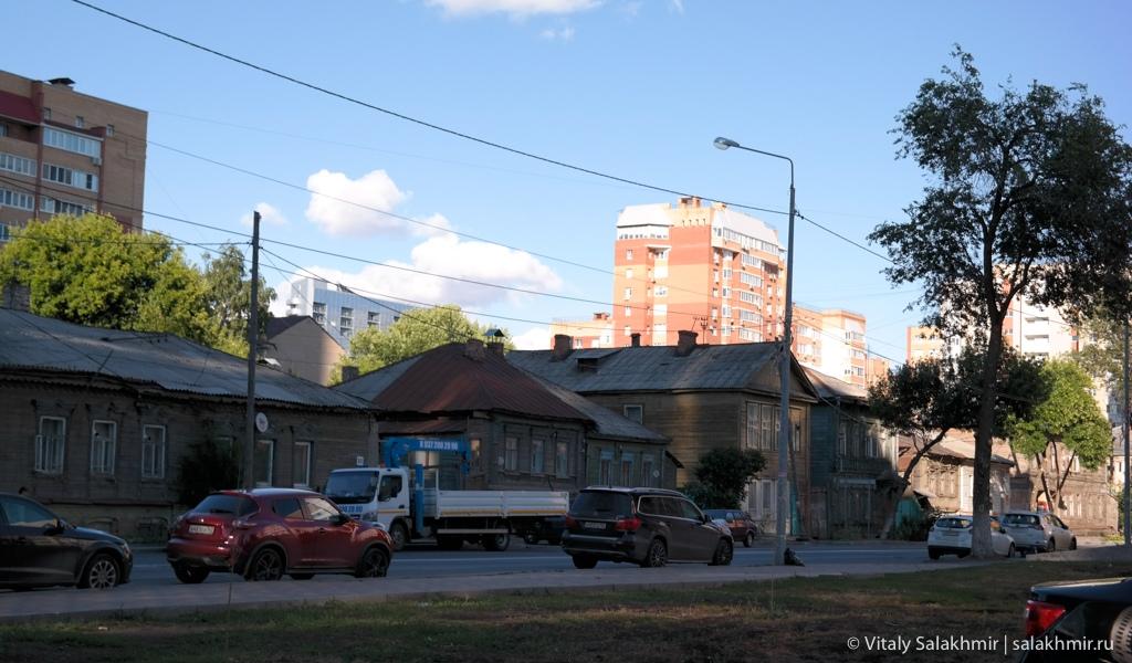 Улицы исторического центра Самары, 2020