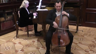 Eugene Prokoshin (cello) plays Fritz Kreisler Schön Rosmarin.