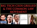 Big Tech Ceos Grilled The Common Law Movement