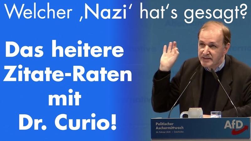 Der wahre Grund warum die AfD von den anderen Parteien so diffamiert wird Dr Gottfried Curio