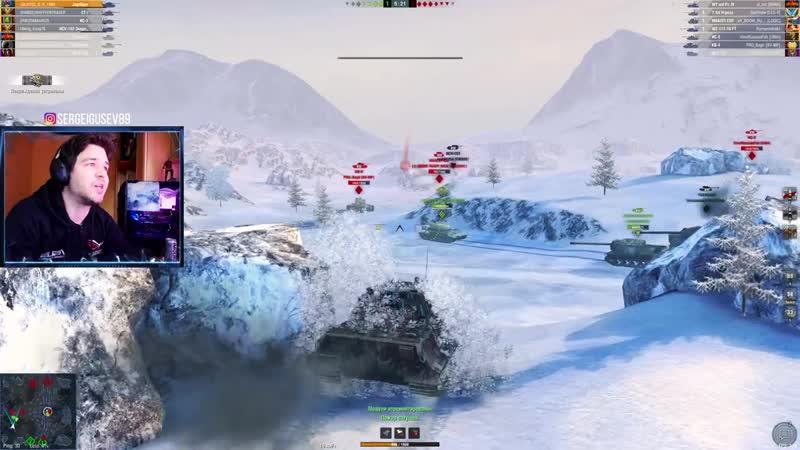 WoT Blitz Купил ПТ САУ ЯГДТИГР на ОСНОВУ ● Мой лучший бой на Jagdtiger без подкрутки WoTB