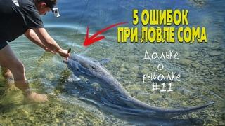 НЕ СОВЕРШАЙ эти 5 ОШИБОК при ЛОВЛЕ СОМА - советы начинающим | Виталий #Дальке о рыбалке 11