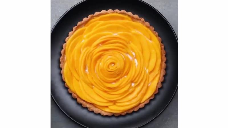 Манговый тарт Торты рецепты