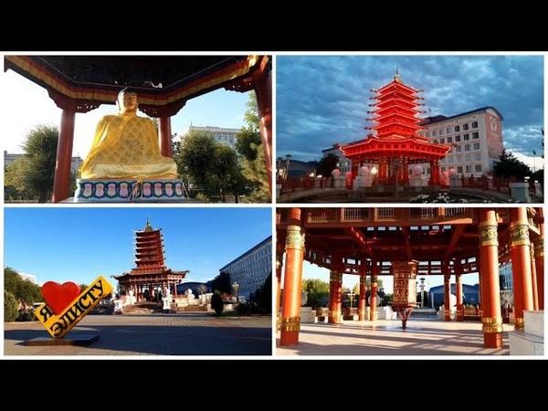 Калмыкия Элиста Пагода семи дней и статуя Будды Шакьямуни глазами местного жителя