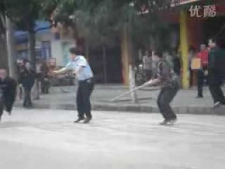Chinese Robbers Vs Police